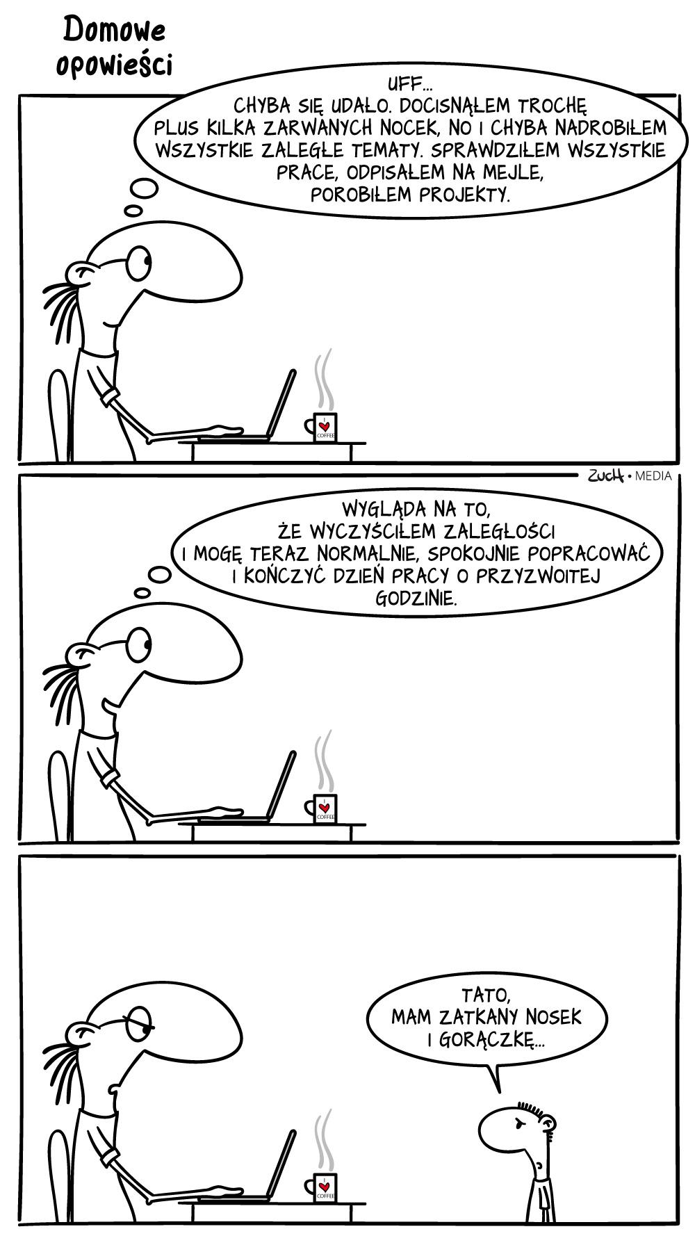 Komiks – nadrobiłem zaległości w pracy